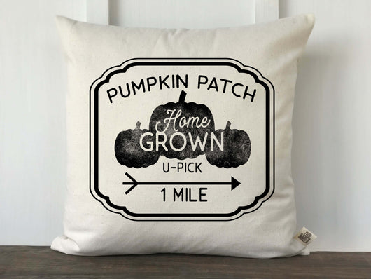 Pumpkin Patch U-Pick Pillow Cover - Returning Grace Designs