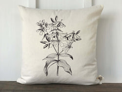 Vintage Wildflower No. 1 Pillow Cover