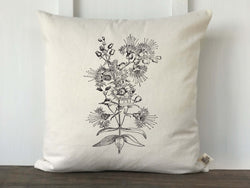 Vintage Wildflower No. 2 Pillow Cover