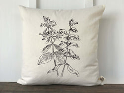 Vintage Wildflower No. 3 Pillow Cover
