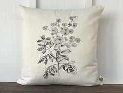 Vintage Wildflower No. 5 Pillow Cover