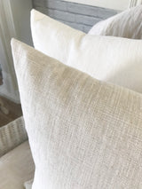 Solid Washed Linen Pillow Cover - Returning Grace Designs