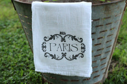 Paris Flour Sack Towel - Returning Grace Designs