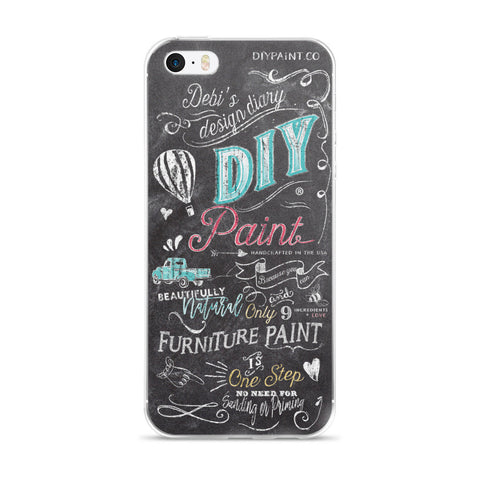 DIY Paint iPhone 5/5s/Se, 6/6s, 6/6s Plus Case