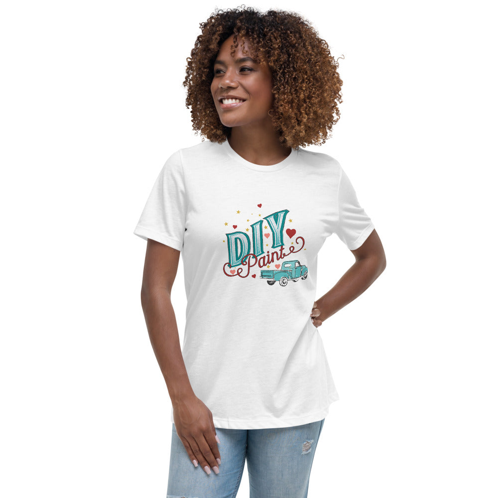 DIY Bella Women's Relaxed T-Shirt Light