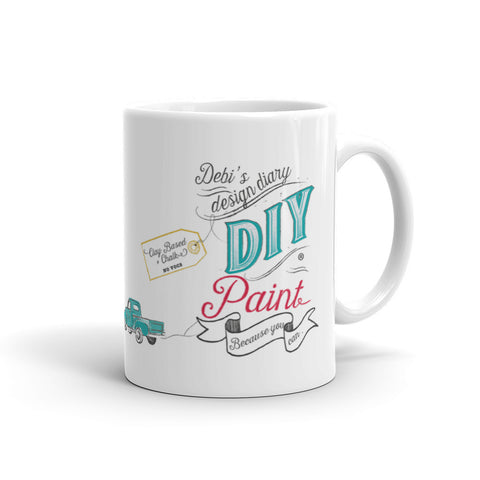 DIY Paint But First Coffee Mug