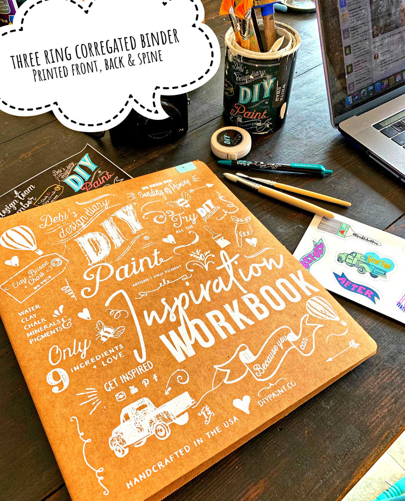 DIY Inspiration Workbook - International Shipping Included