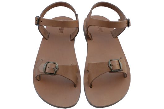 Caramel Billa Handmade Leather Sandals for Men, Women & Children