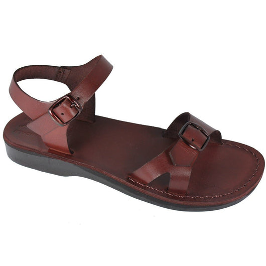 Brown Billa Handmade Leather Sandals for Men, Women & Children - Sandali_Sandals