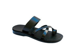 Black Bath Handmade Leather Sandals for Men, Women & Children