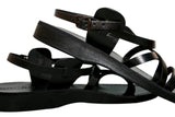 Leather Sandals - Black Star Handmade Leather Sandals for Men & Women