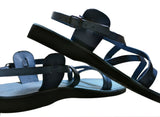 Leather Sandals - Blue Star Handmade Leather Sandals for Men & Women