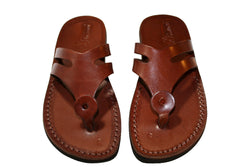 Leather Sandals - Brown Arrow Handmade Leather Sandals for Men & Women