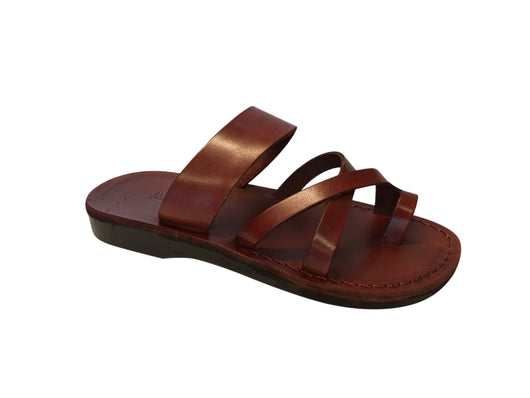 Brown Bath Handmade Leather Sandals for Men, Women & Children - Sandali_Sandals