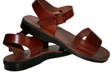 Leather Sandals - Brown Desert Handmade Leather Sandals for Men & Women