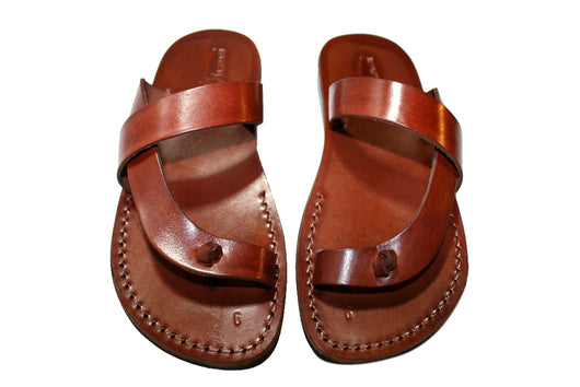 Brown Earth Handmade Leather Sandals for Men, Women & Children - Sandali_Sandals
