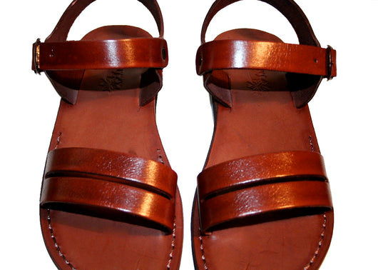 Leather Sandals - Brown Hammer Handmade Leather Sandals for Men & Women