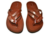Leather Sandals - Brown Hoya Handmade Leather Sandals for Men & Women