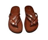 Brown Hoya Handmade Leather Sandals for Men, Women & Children