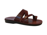 Leather Sandals - Caramel Zing Handmade Leather Sandals for Men & Women