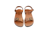 Caramel Billa Handmade Leather Sandals for Men, Women & Children - Sandali_Sandals
