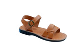 Caramel Circle Handmade Leather Sandals for Men, Women & Children - Sandali_Sandals
