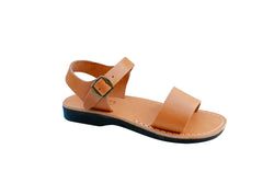 Caramel Desert Handmade Leather Sandals for Men, Women & Children - Sandali_Sandals