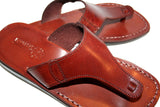 Brown Wave Handmade Leather Sandals for Men, Women & Children - Sandali_Sandals