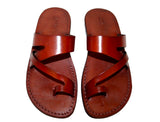 Brown Zing Handmade Leather Sandals for Men, Women & Children - Sandali_Sandals