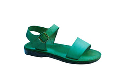 Green Desert Handmade Leather Sandals for Men, Women & Children - Sandali_Sandals
