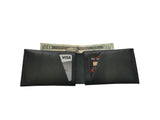 Green Leather Slit Wallet Coin Money Purse for Men & Women - Accessories - Sandali_Sandals