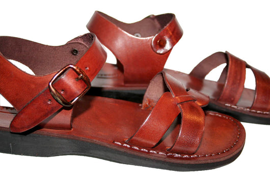 official photos 56ffc 0d607 Children Leather Sandals for Boys   Girls - Circle Design - Handmade Toddler  Jesus Sandals ...