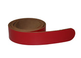 Leather Belt - Chocolate Brown Leather Belt for Men & Women (Including Buckle)