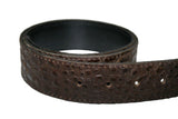 Leather Belt - Dark Chocolate Brown Leather Belt for Men & Women (Including Buckle)