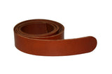 Carrot Brown Leather Belt for Men & Women (Including Buckle) - Accessories