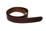 Leather Belt - Black Leather Belt for Men & Women (Including Buckle)