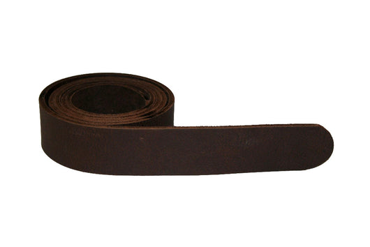 Dark Chocolate Brown Leather Belt for Men & Women (Including Buckle) - Accessories - Sandali_Sandals