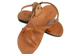 Caramel Star Handmade Leather Sandals for Men, Women & Children - Sandali_Sandals
