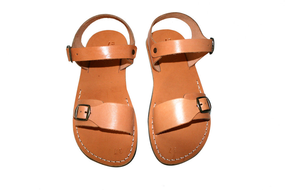 a44817805fdbe Leather Sandals - Caramel Eclipse Handmade Leather Sandals for Men & Women