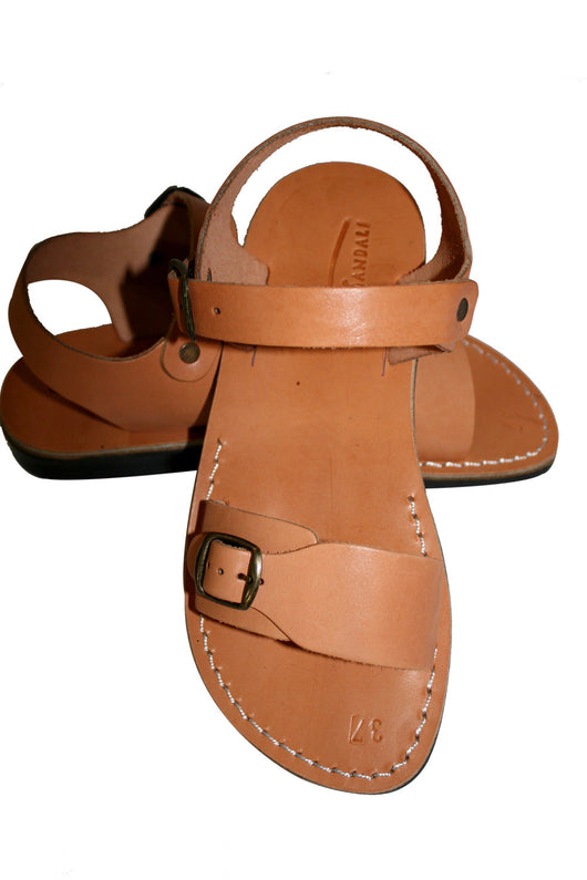 528fcd7b371ac Leather Sandals - Caramel Eclipse Handmade Leather Sandals for Men ...