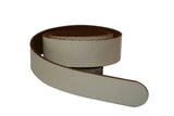 Cream Leather Belt for Men & Women (Including Buckle) - Accessories - Sandali_Sandals
