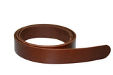 Leather Belt - Red Leather Belt for Men & Women (Including Buckle)