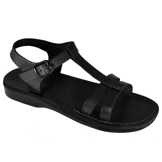 Black Oliver Handmade Leather Sandals for Men, Women & Children