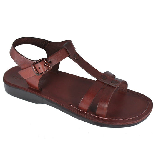 Brown Oliver Handmade Leather Sandals for Men, Women & Children