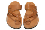 Caramel Zing Handmade Leather Sandals for Men, Women & Children - Sandali_Sandals