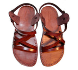Children Leather Sandals for Boys & Girls - Star Design - Handmade Toddler Jesus Sandals - Sandali_Sandals