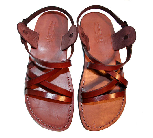 best service 7048a 95b83 ... Children Leather Sandals for Boys   Girls - Star Design - Handmade  Toddler Jesus Sandals ...