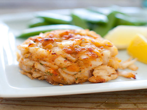 Broiled Jumbo Lump Crab Cakes