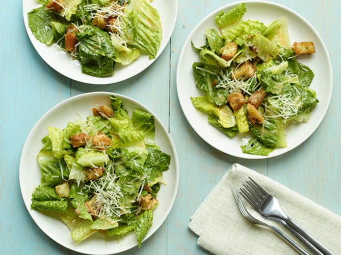 Classic Caesar Salad For Two
