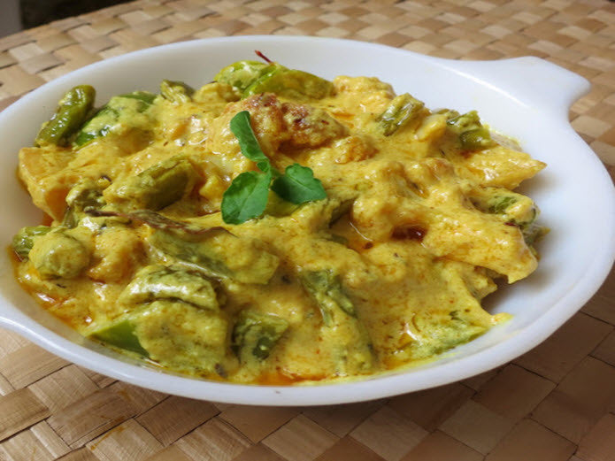 Spicy Chicken and Vegetable Korma